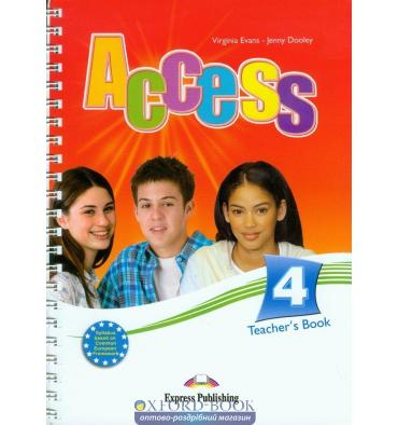 Access 4 Teacher's Book (Interleaved)