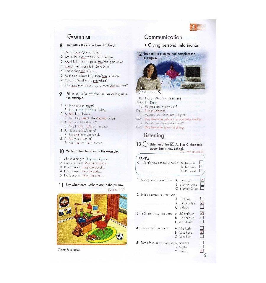 решебник click on 1 workbook