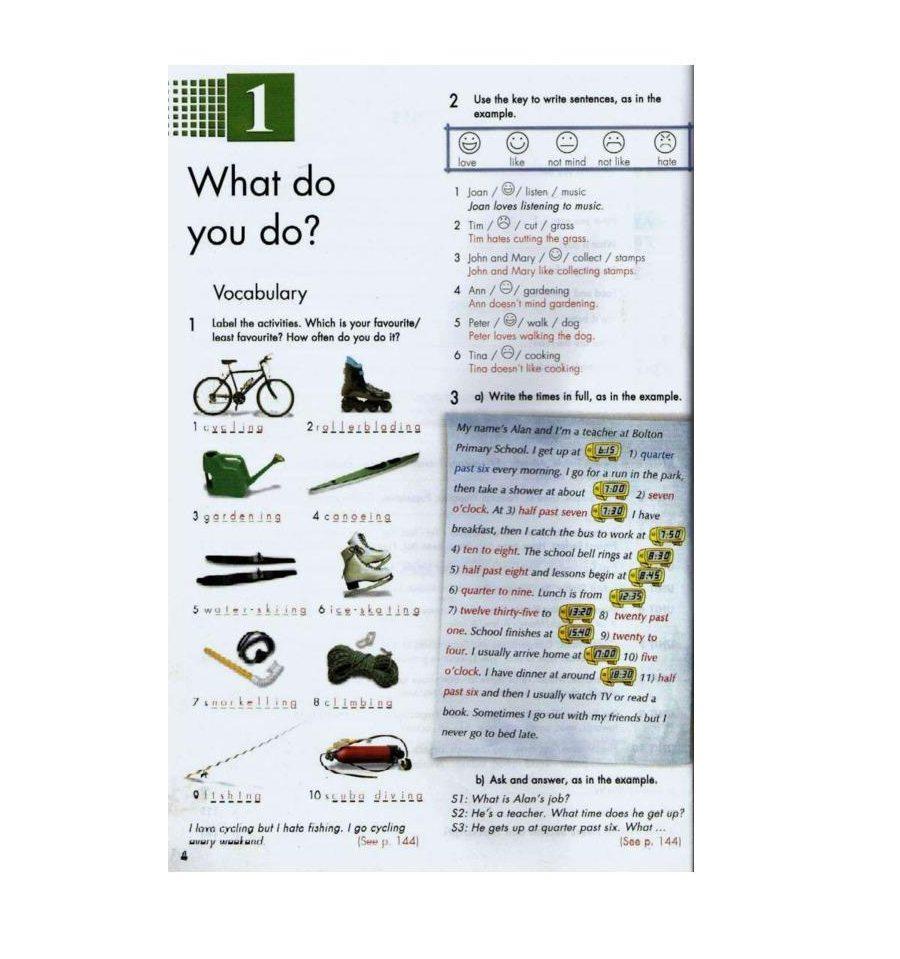 Учебник по английскому click on гдз 6 класс