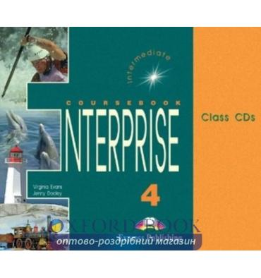 Enterprise 4 Class Audio CDs (Set of 3)