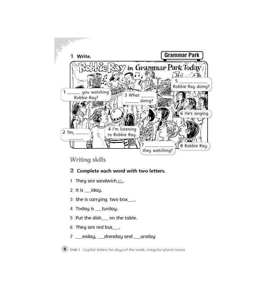 Basic Grammar Practice Book