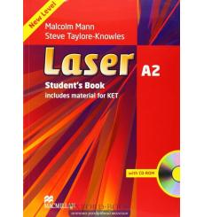 Laser (3rd Edition) A2 Student's Book & CD-ROM Pack