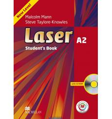 Laser (3rd Edition) A2 Student's Book + CD Rom + Macmillan Practice Online