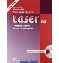 Laser (3rd Edition) A2 Teacher's Book + DVD-ROM Pack