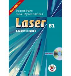 Laser (3rd Edition) B1 Student's Book + CD Rom + Macmillan Practice Online