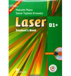 Laser (3rd Edition) B1+ Student's Book + CD Rom + Macmillan Practice Online