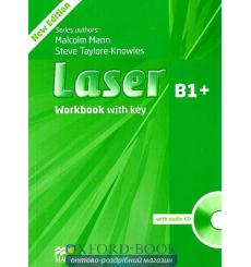 Laser (3rd Edition) B1+ Workbook with Key & CD Pack