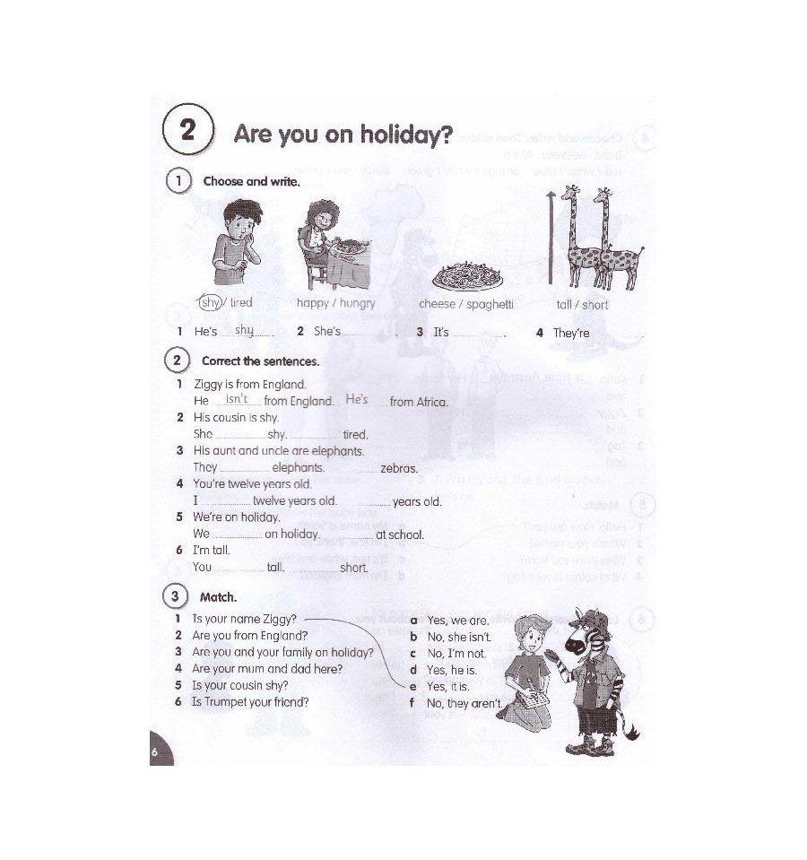 Fly high 3 activity book гдз