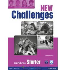 New Challenges Starter: Workbook with Audio CD