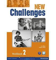 New Challenges 2: Workbook with Audio CD