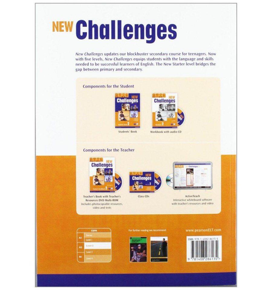 решебник по английскому challenges 2 workbook
