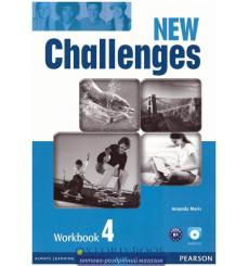 New Challenges 4: Workbook with Audio CD