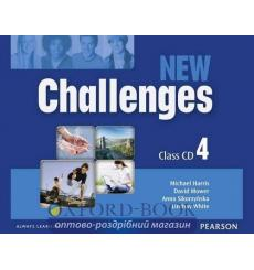 New Challenges 4: Class CDs