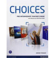 Choices Pre-Intermediate: Teacher's Book with Multi-ROM