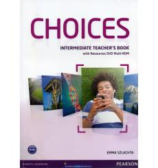 Choices Intermediate: Teacher's Book with Multi-ROM