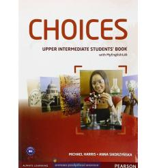 Choices Upper-Intermediate Students' Book and MyLab PIN Code Pack