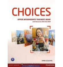 Choices Upper-Intermediate: Teacher's Book with Multi-ROM