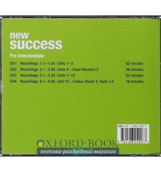 New Success Pre-Intermediate: Class CDs