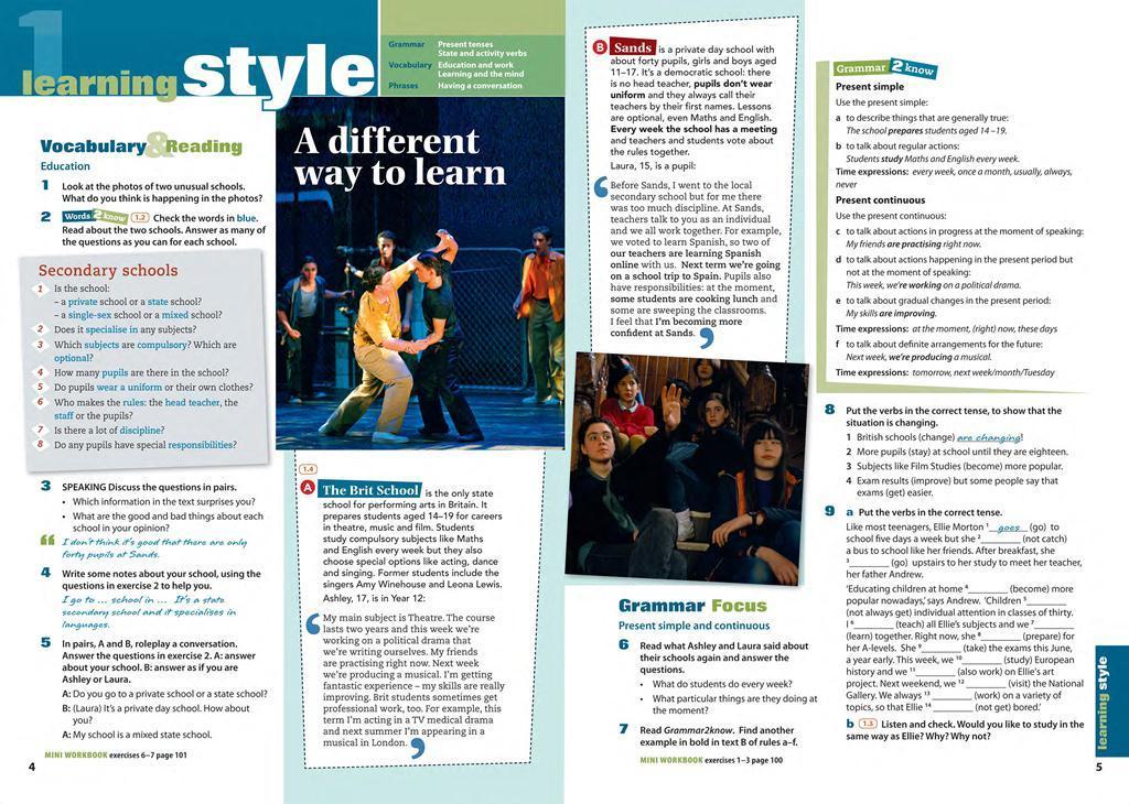 english life intermediate students book решебник