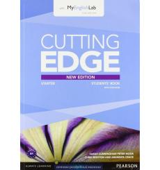 Cutting Edge Starter Student Book with DVD and myEnglishLab