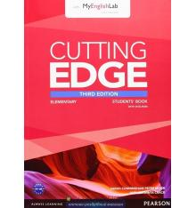 Cutting Edge Elementary Student Book with DVD and myEnglishLab