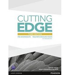 Cutting Edge Pre-intermediate Teacher's Book with Teacher's Resources Disk Pack