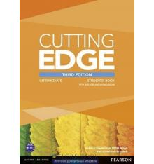 Cutting Edge Intermediate Student Book with DVD and myEnglishLab