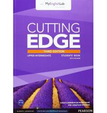 Cutting Edge Upper-Intermediate Student Book with DVD and myEnglishLab