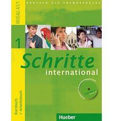 Schritte international 1 Kursbuch+Arbeitsbuch+CD zum Arbeitsbuch