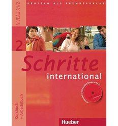 Schritte international 2 Kursbuch+Arbeitsbuch+CD zum Arbeitsbuch