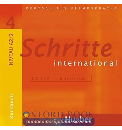 Schritte international 4 CDs zum Kursbuch (2)
