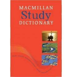 Macmillan Study Dictionary Paperback