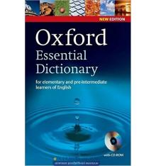 Oxford Essential Dictionary 2nd Edition Paperback with CD-ROM