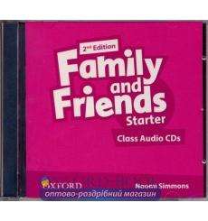 Family and Friends 2nd Edition Starter: Class Audio CDs (2)