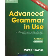 advanced grammar in use third edition edition with answers