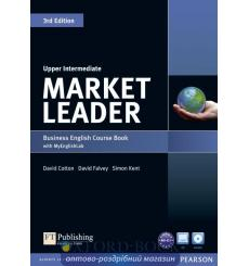 Market Leader 3rd Edition Upper-Intermediate Coursebook with DVD-ROM and MyEnglishLab