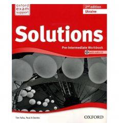 Solutions Pre-Intermediate Second Edition: Workbook with CD-ROM (Ukrainian Edition)
