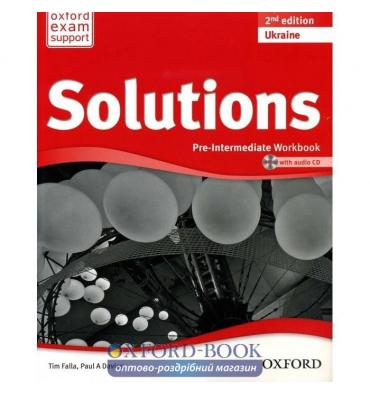 Solutions pre-intermediate 2nd workbook audio cd resources for.