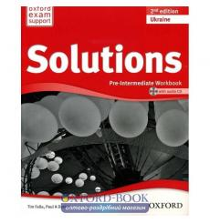 Solutions Pre-Intermediate: Workbook with CD-ROM (Ukrainian Edition)