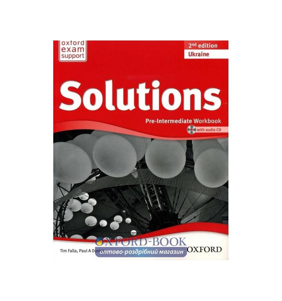 U043a U0443 U043f U0438 U0442 U044c Solutions Pre Intermediate Workbook Second Edition