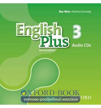 English Plus 2nd Edition 3 Class Audio CDs
