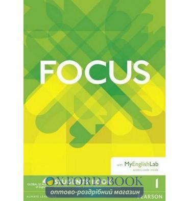 Focus 1 Students' Book with MyEnglishLab