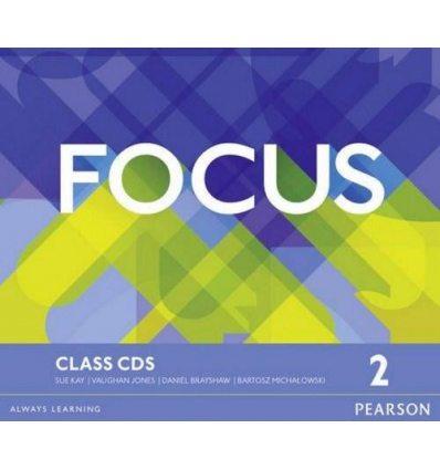 Focus 2 Class Audio CDs