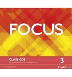 Focus 3 Class Audio CDs