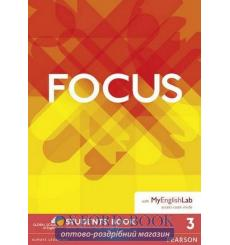 Focus 3 Students' Book with MyEnglishLab