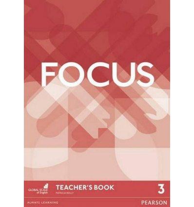 Focus 3 Teacher's Book with DVD