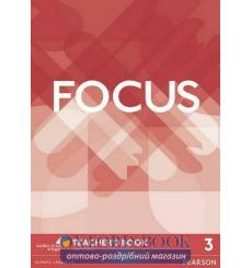 Focus 3 Teacher's Book with DVD