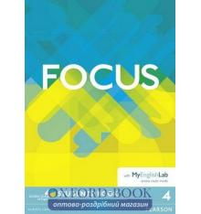 Focus 4 Students' Book with MyEnglishLab