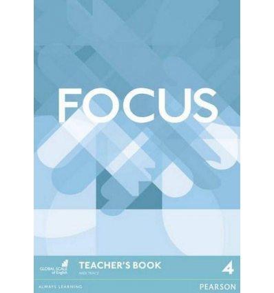 Focus 4 Teacher's Book with DVD