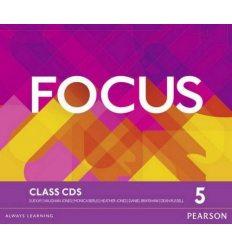 Focus 5 Class Audio CDs